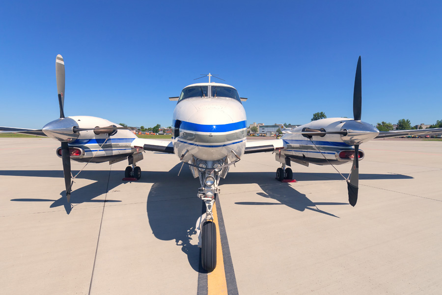 King Air 200  Charter Jetset